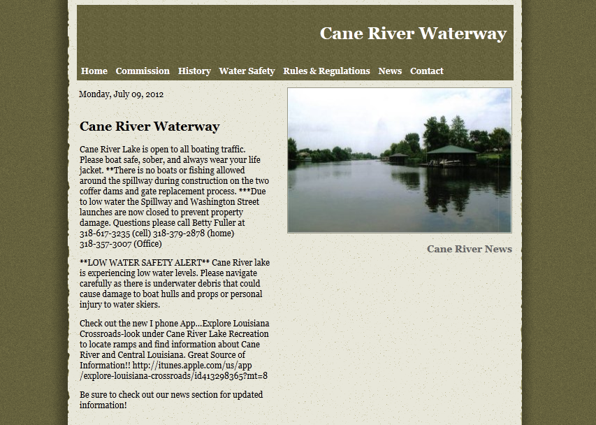 Cane River Waterway